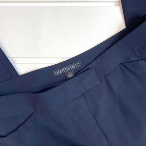 Lafayette 148 New York Pants & Jumpsuits - Lafayette 148 NY Navy Wool Pants Size 10